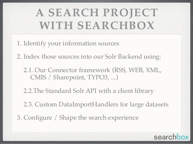 how to build a search engine from scratch