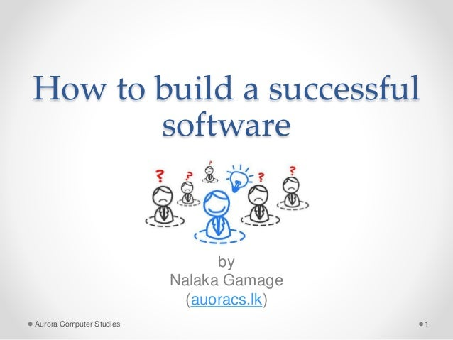 how to build a successful software company