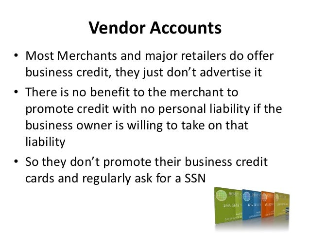 How to build business credit that is not in your ssn credit scores 49 reheart Gallery
