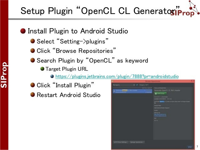 How to Build & Use OpenCL on Android Studio