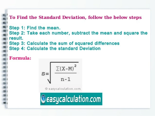 How to calculate standard deviation easycalculation how to calculate standard deviation 2 ccuart Choice Image