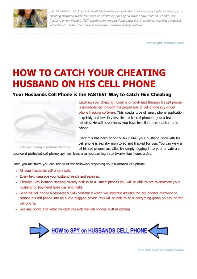 You think they're cheating. But how can you know for sure?