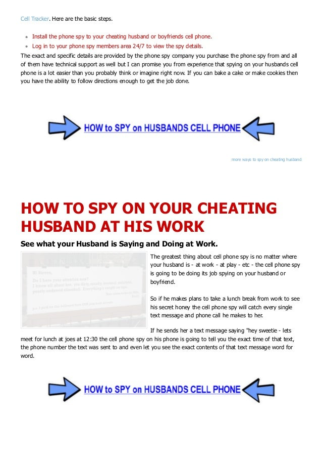 How to-catch-cheating-husband