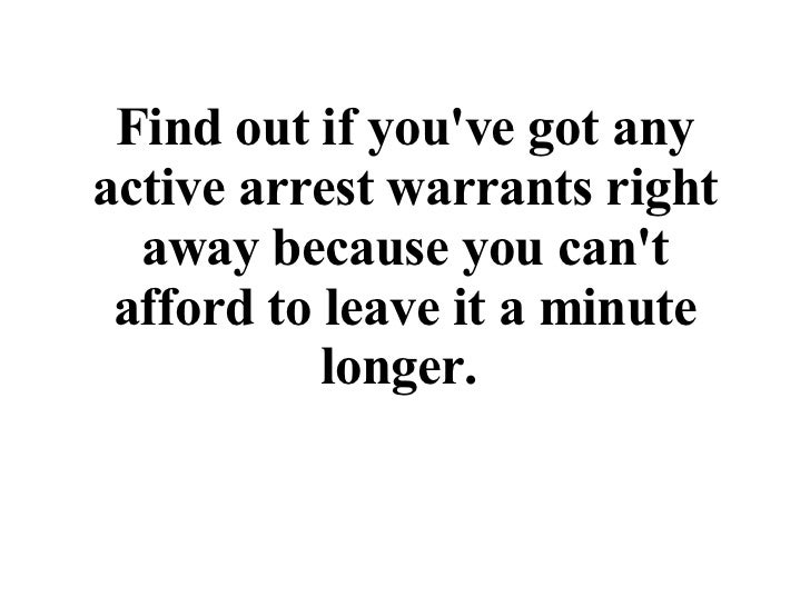 Active Warrants (PDF) | Lake County, IL