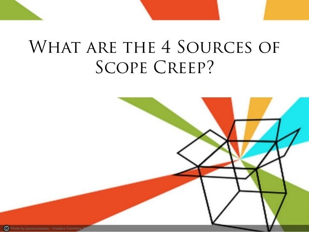 scope creep Scope creep in project management refers to changes or growth that cannot be controlled in a project learn how cupe can help with your project scope creep.