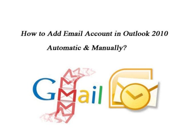 configure gmail in outlook 2010