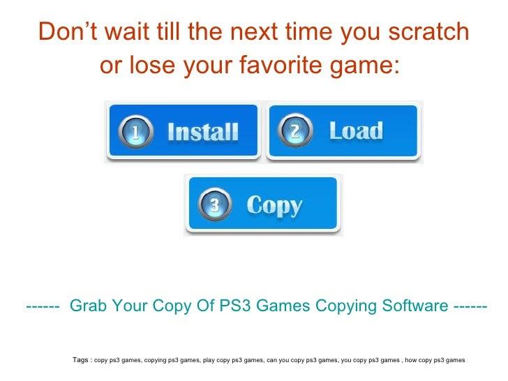 Free Ps3 Game Burning Software Download