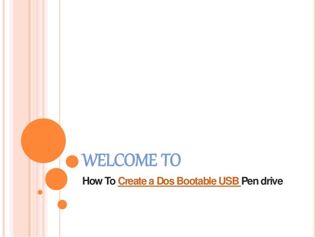 How to-create-a-dos-bootable-usb-pendrive