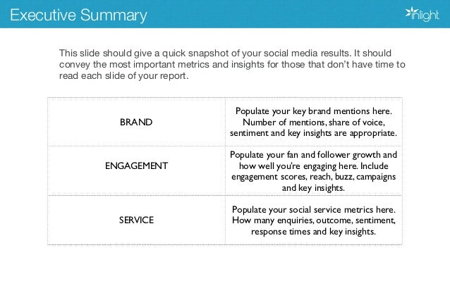 Social Media Report Template | How To Create A Winning Social Media Report