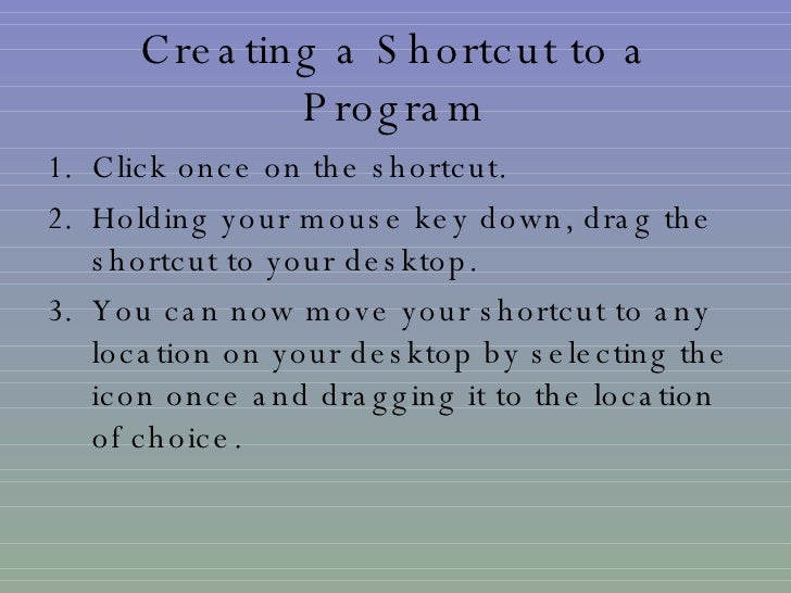 how to create shortcut linux