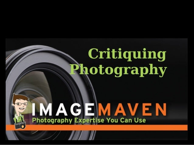 Critiquing Photography