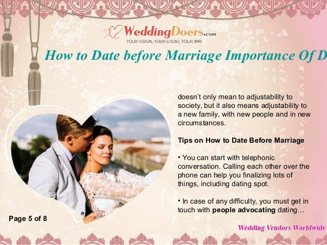 Dating Before Marriage Is It Good