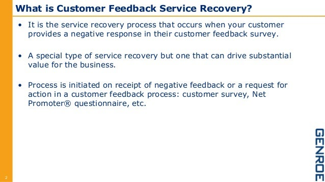 Why Bain Is Important >> How to Design a Service Recovery Process