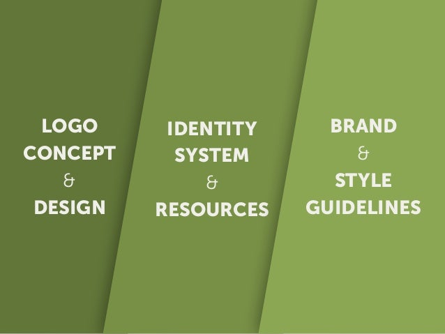 The Logo Concept Get concepts down on paper and then expand on those ideas. This can unlock new directions for exploration...