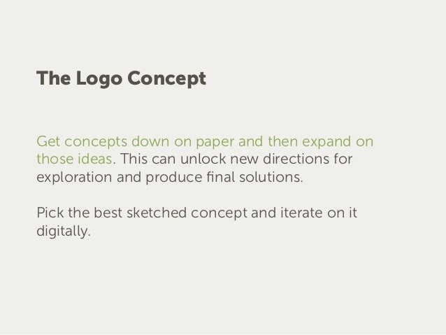 The Identity System The identity system usually starts after the logo is complete. The purpose of the identity system is t...