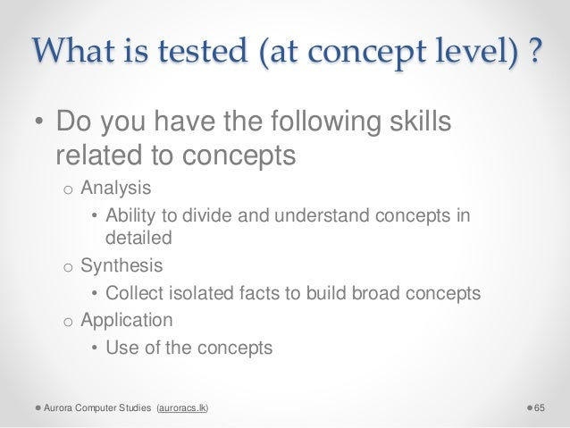 How to do your Advanced Level (A/L) studies successfully