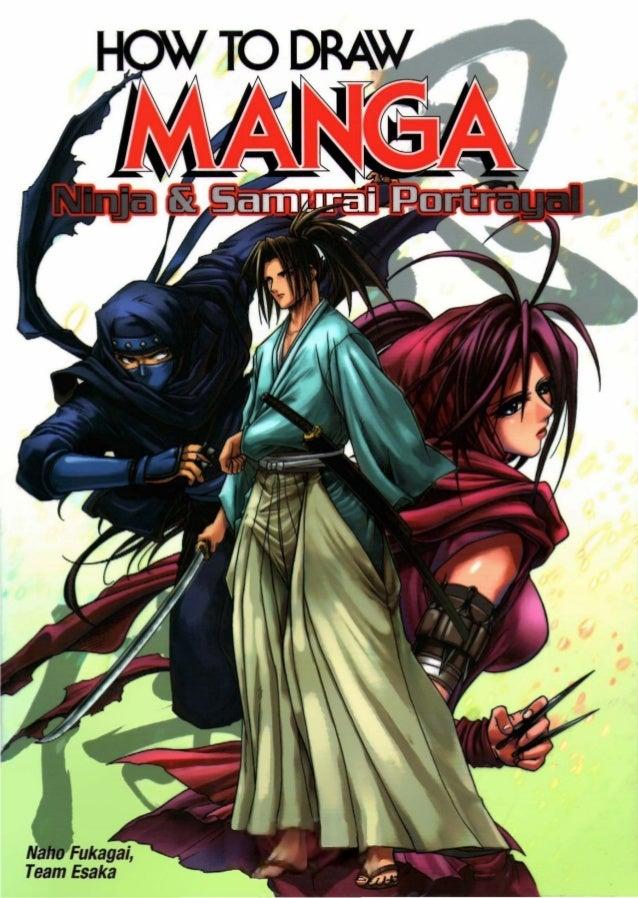 How to-draw-manga-vol-38-ninja-samurai-portrayal