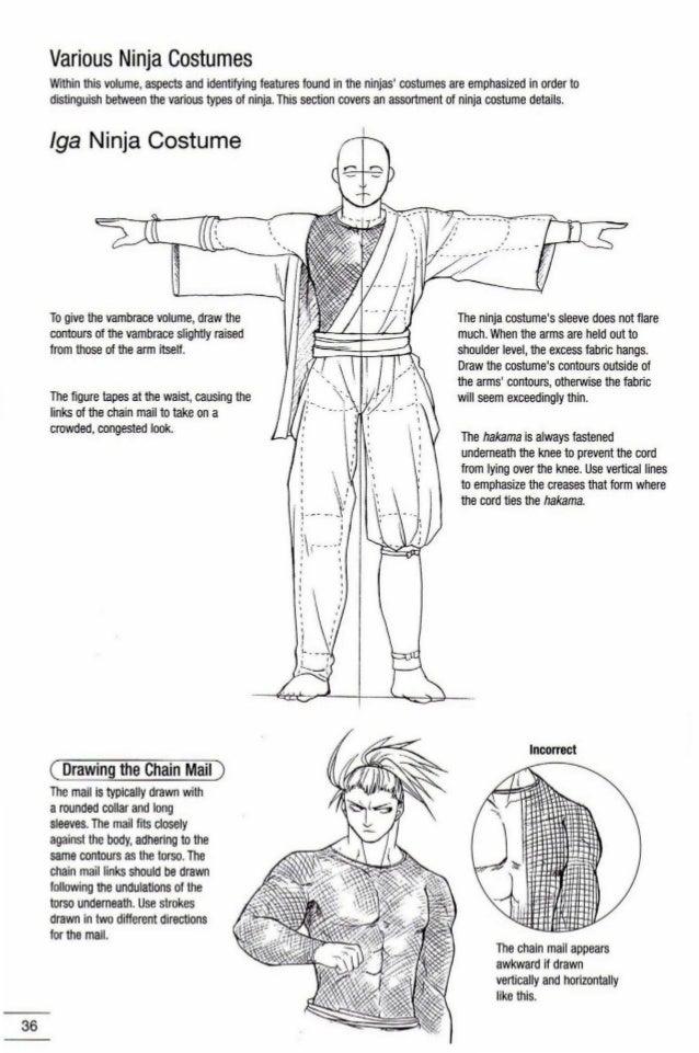 sc 1 st  SlideShare & How to-draw-manga-vol-38-ninja-samurai-portrayal