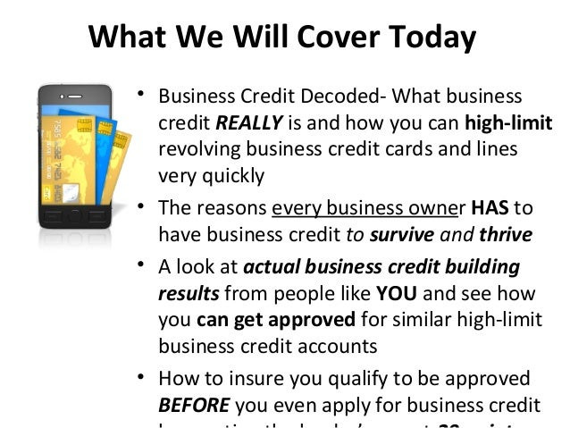 How to easily build business credit thats not linked to your ssn in 3 what we will cover today business credit reheart Images