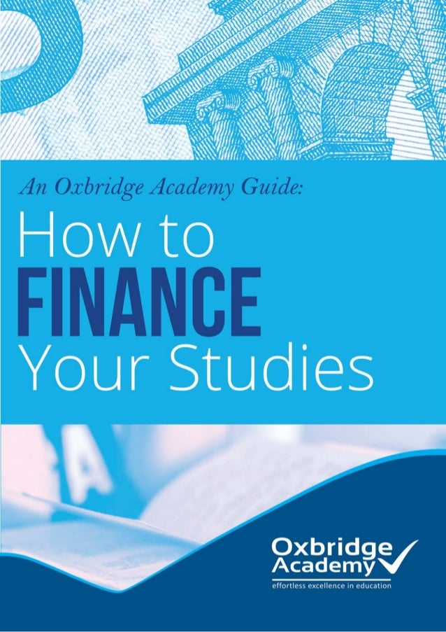 How To finance Your studies Table of Contents 1.	Introduction 2.	Scholarships & Bursaries 	 Where to Look 	 Bursary List 	...