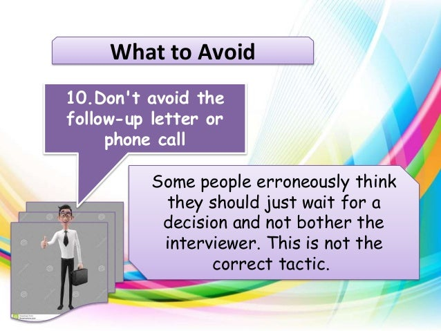 How to follow up after a job interview 10 follow up steps after the i
