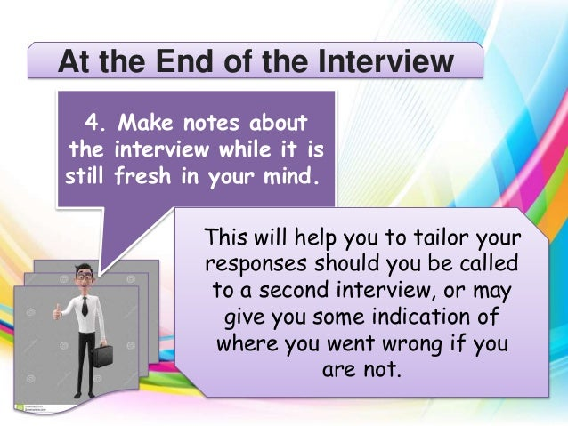 follow up after second interview