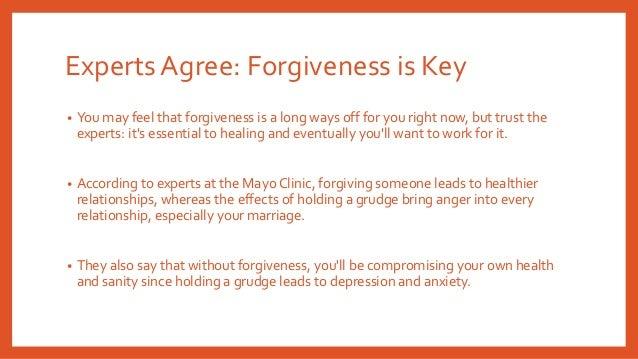 How do you forgive a cheater