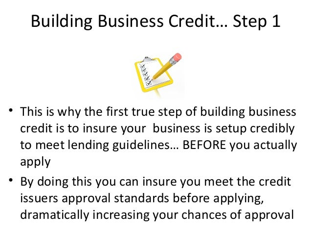 application thats used to determine your approval 12 building business credit - Apply For Business Credit Card No Personal Guarantee