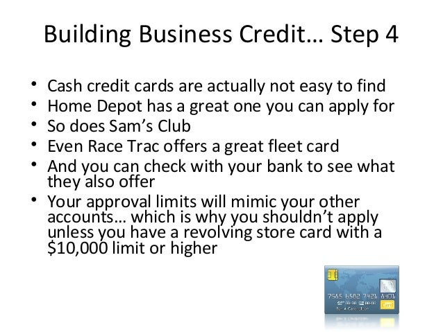 How to get a 10000 business credit card with no personal guarantee 23 building business credit reheart Images