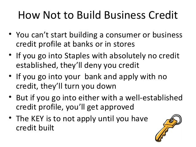 apply for business credit