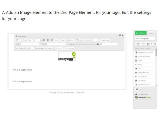 How To Get A Crazy-Egg-inspired Landing Page