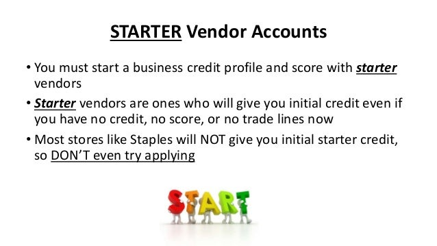 How to get amazon dell and walmart business credit cards starter vendors 28 reheart Images