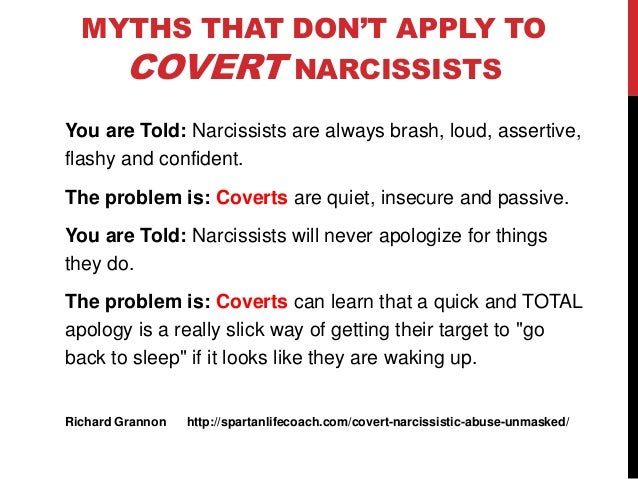 Do Covert Narcissists Know What They Are Doing