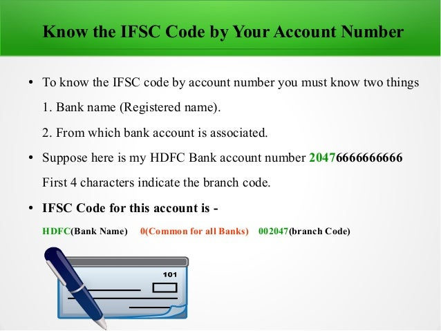 with ifsc code how to find the bank
