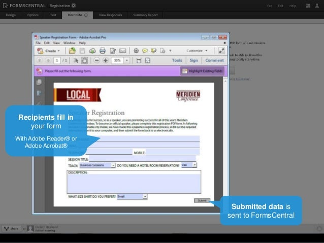 how to import existing pdf forms with adobe formscentral