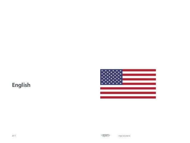 Improvements English 2017