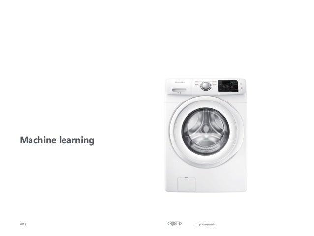 Improvements Machine learning 2017