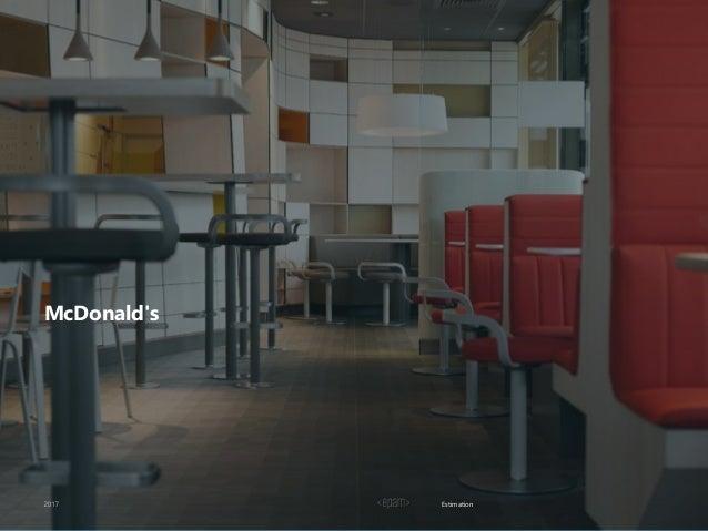 Estimation McDonald's