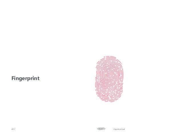 Cognitive load2017 Fingerprint
