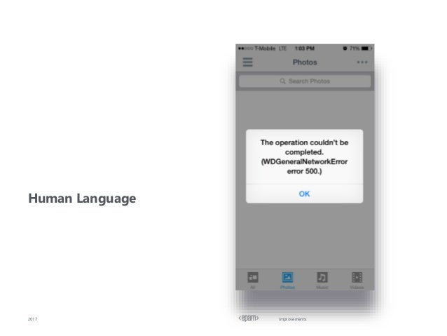 Improvements Human Language 2017