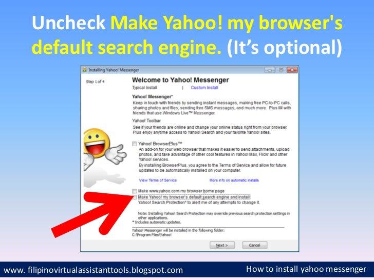 Free Install Yahoo.com