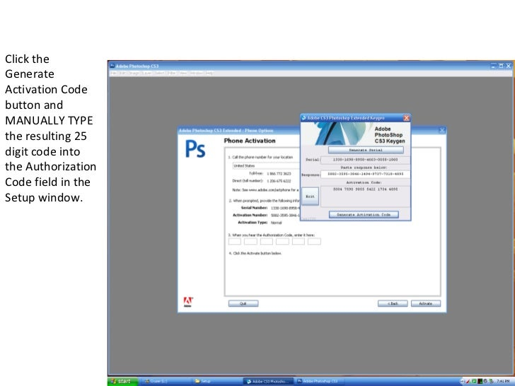 Adobe photoshop cs3 crack instructions