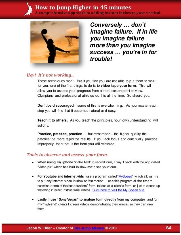jacob hiller jump manual pdf