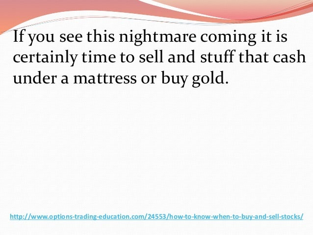learn how to buy and sell stocks