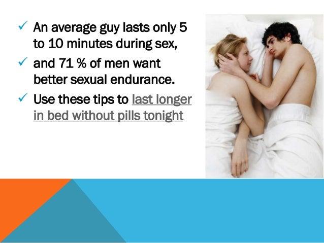 How to last longer in sex men