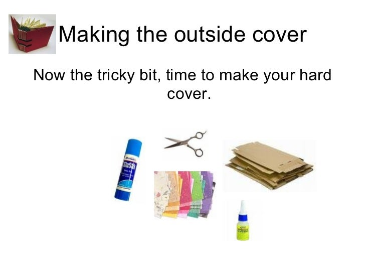 How To Make A Book Cover Hardcover : How to make a hard cover book
