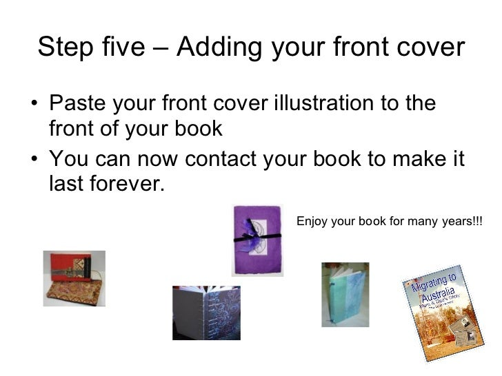 How To Make A Hardcover Book : How to make a hard cover book