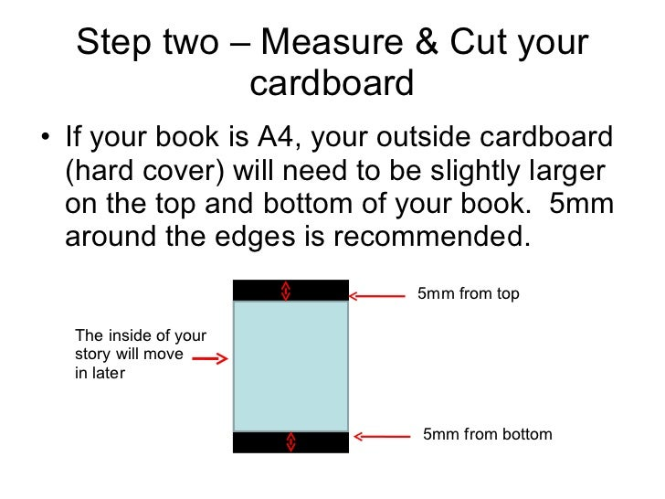 How To Make A Book Cover Hardcover ~ How to make a hard cover book