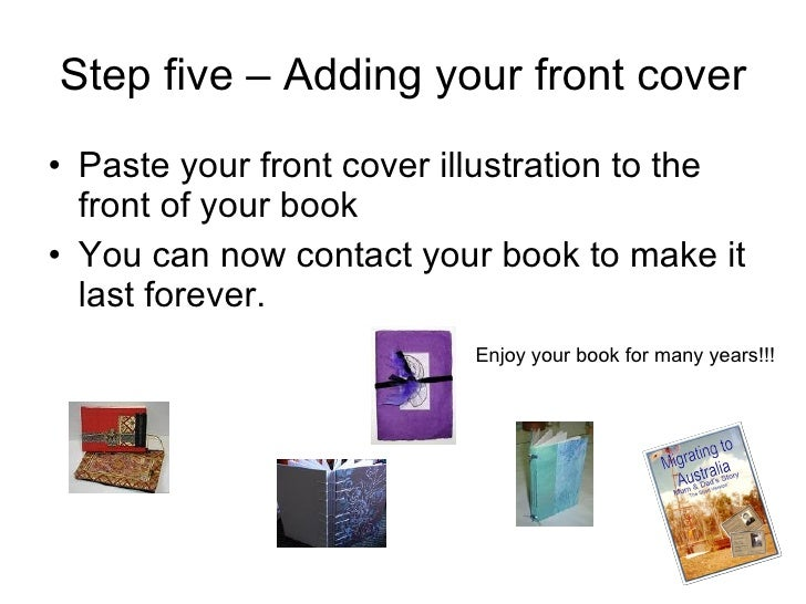 How To Make A Hardcover Book ~ How to make a hard cover book