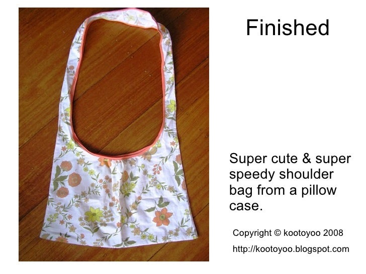 how to make a tabard from a pillowcase
